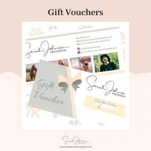 Order Gift Vouchers / Book Sessions